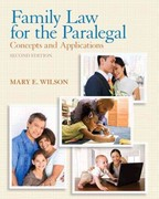 Family Law for the Paralegal 2nd edition 9780135109489 0135109485