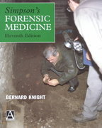 Simpson's Forensic Medicine, 13th Edition 13th Edition 9781444149746 1444149741