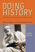 Doing History 2nd edition 9781133587880 1133587887
