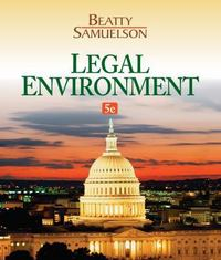 Legal Environment 5th Edition 9781133587491 1133587496