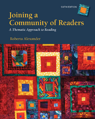 Joining a Community of Readers 6th Edition 9781285545943 128554594X
