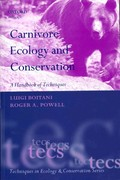 Carnivore Ecology and Conservation 1st Edition 9780199558537 0199558531