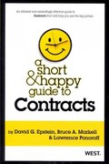 A Short and Happy Guide to Contracts 1st Edition 9780314277930 0314277935