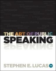 The Art of Public Speaking with Connect Plus Access Card 11th edition 9780077601706 007760170X