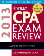 Wiley CPA Exam Review 2013,  Auditing and Attestation 10th Edition 9781118419632 1118419634