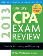 Wiley CPA Exam Review 2013, Financial Accounting and Reporting 10th Edition 9781118277225 1118277228