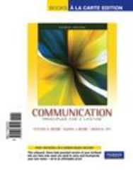 Communication 4th edition 9780205772131 0205772137