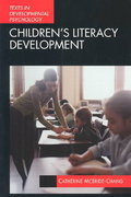 Children's Literacy Development 1st Edition 9780340808009 0340808004