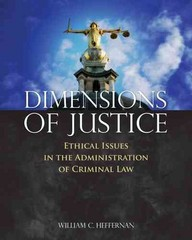 Dimensions of Justice 1st Edition 9781449634070 1449634079