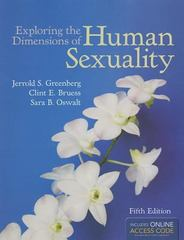 Exploring the Dimensions of Human Sexuality 5th Edition 9781449648527 1449648525
