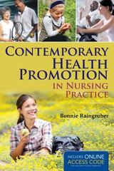 Contemporary Health Promotion in Nursing Practice 1st Edition 9781449628130 1449628133