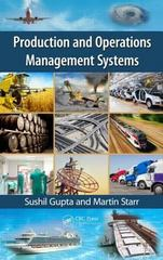 Production and Operations Management Systems 1st Edition 9781466507333 1466507330