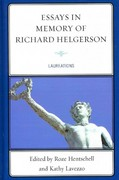 Essays in Memory of Richard Helgerson 0 9781611493825 161149382X