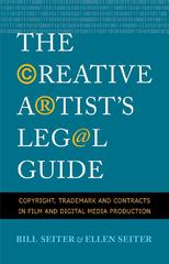The Creative Artist's Legal Guide 1st Edition 9780300161199 0300161190