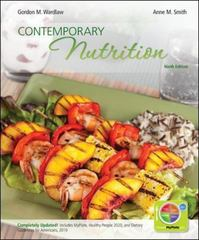 Contemporary Nutrition 9th Edition 9780073402543 0073402540