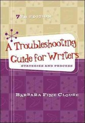 A Troubleshooting Guide for Writers 7th Edition 9780073405919 0073405914