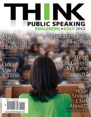 THINK Public Speaking 1st Edition 9780205028764 0205028764