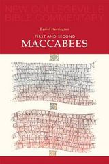 First and Second Maccabees 1st Edition 9780814628461 081462846X