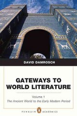 Gateways to World Literature 1st Edition 9780205787104 020578710X