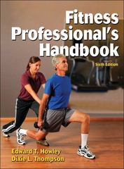 Fitness Professional's Handbook-6th Edition 6th Edition 9781450498265 1450498264