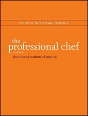 The Professional Chef, Study Guide 9th Edition 9781118139882 1118139887