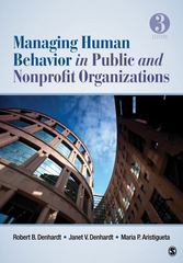 Managing Human Behavior in Public and Nonprofit Organizations 3rd Edition 9781412991650 141299165X