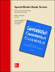 Looseleaf for A First Look at Communication Theory 8th edition 9780077527464 0077527461