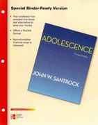 Looseleaf for Adolescence 14th edition 9780077606350 0077606353