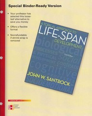 Loose Leaf for A Topical Approach to Life-Span Development w/ Connect Plus 1st Edition 9780077923396 0077923391