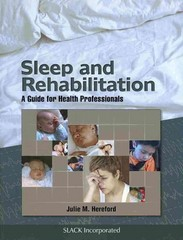 Sleep and Rehabilitation 1st Edition 9781617110337 1617110337