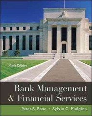 Bank Management & Financial Services 9th Edition 9780078034671 0078034671