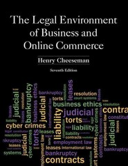 The Legal Environment of Business and Online Commerce 7th edition 9780132870887 0132870886