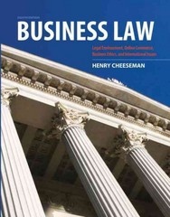 Business Law 8th Edition 9780132890410 0132890410