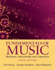 Fundamentals of Music 6th edition 9780205118335 020511833X