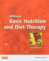 Williams' Basic Nutrition & Diet Therapy 14th Edition 9780323083478 0323083471