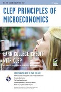CLEP® Principles of Microeconomics 2nd Edition 9780738610283 0738610283