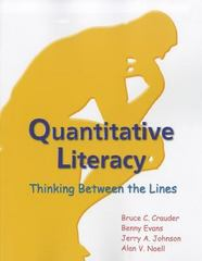 Quantitative Literacy 1st Edition 9781464108037 146410803X