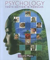Psychology in Modules 10th edition 9781464113642 1464113645