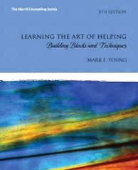 Learning the Art of Helping 5th edition 9780132627504 0132627507