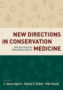 New Directions in Conservation Medicine 1st Edition 9780199909056 0199909059