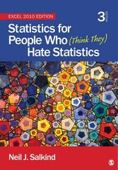 Statistics for People Who (Think They) Hate Statistics 4th Edition 9781483374079 1483374076