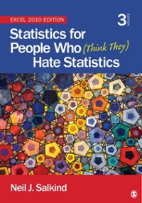 Statistics for People Who (Think They) Hate Statistics 3rd Edition 9781452225234 1452225230