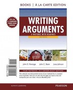 Writing Arguments 9th edition 9780205238651 0205238653