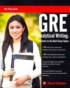 GRE Analytical Writing 1st Edition 9781466399570 1466399570