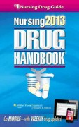 Nursing2013 Drug Handbook 33th Edition 9781451150230 1451150237