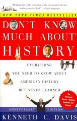 Don't Know Much about History 1st Edition 9780061960543 0061960543