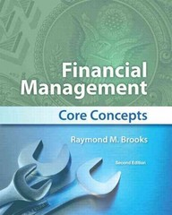 Financial Management 2nd edition 9780132671033 0132671034