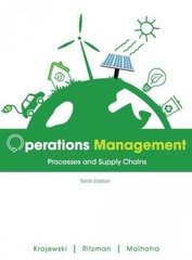 Operations Management 10th Edition 9780133071481 0133071480