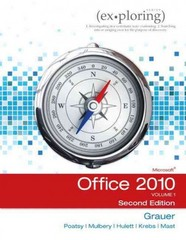 Exploring Microsoft Office 2010, Volume 1 2nd edition 9780133063424 0133063429