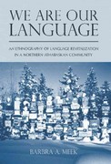 We Are Our Language 1st Edition 9780816514533 0816514534